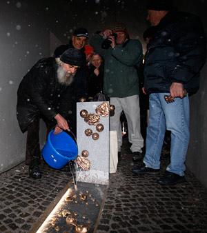 ključavničarska ulica skulptura obrazi